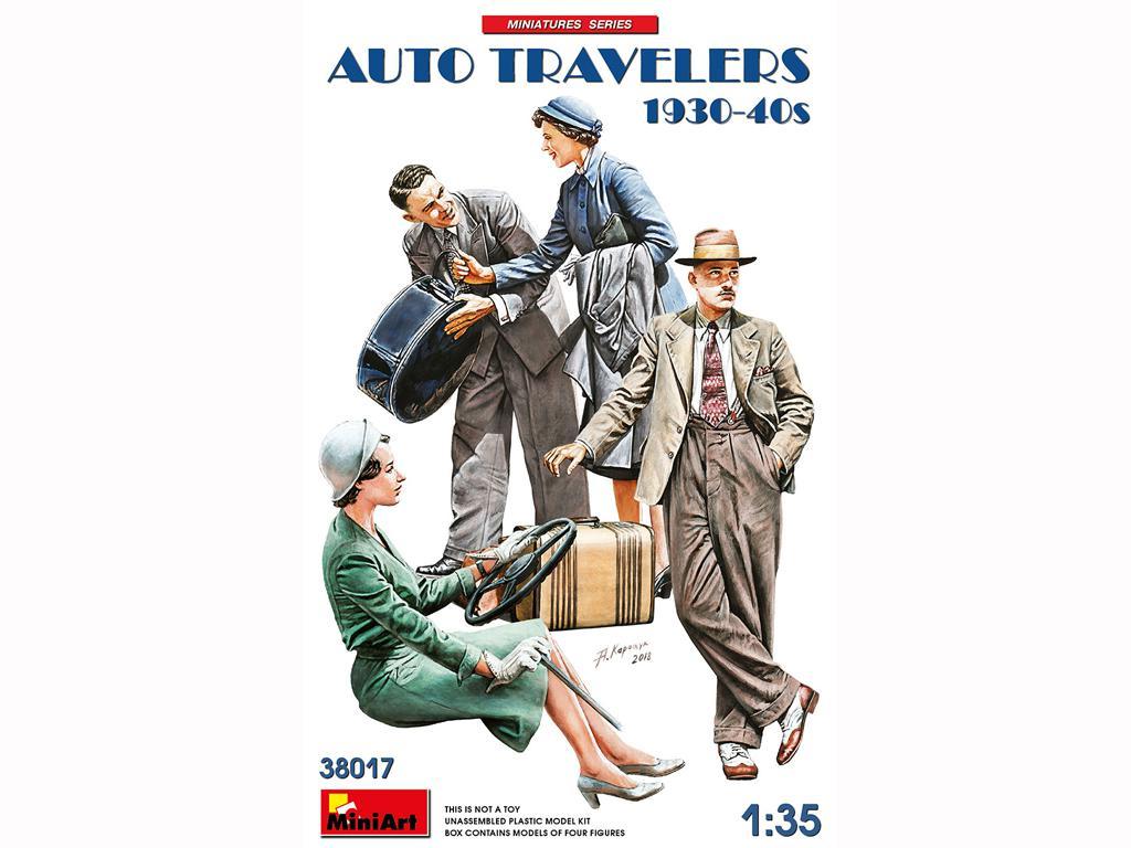 Viajeros de Auto 1930-40S (Vista 1)