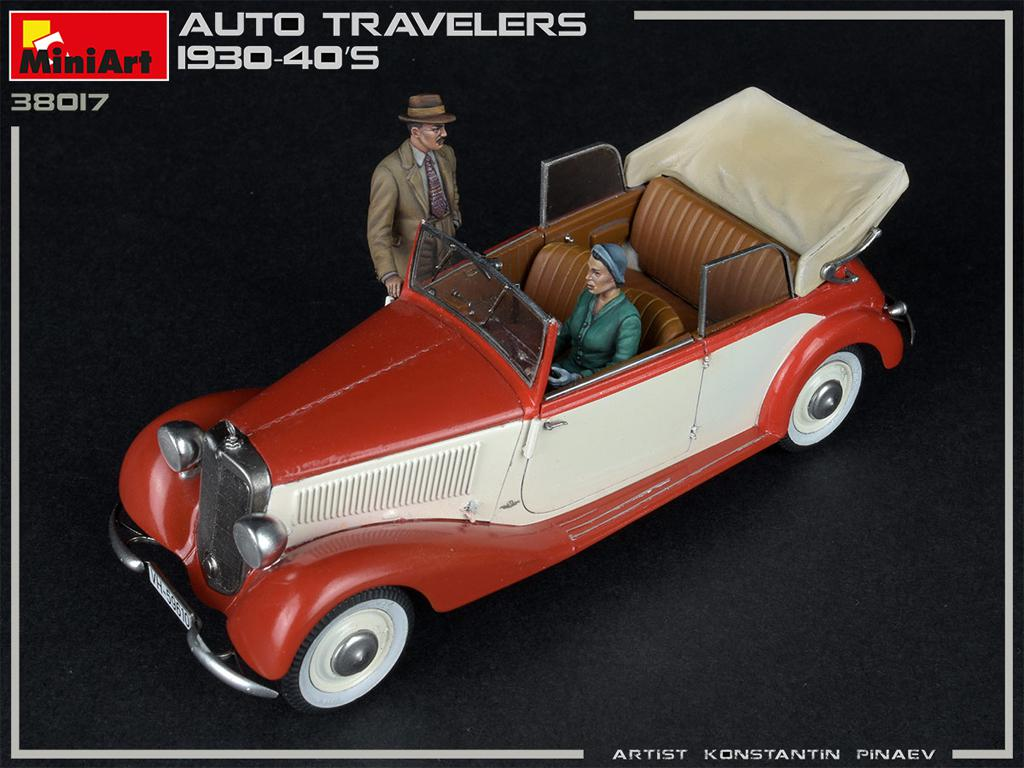 Viajeros de Auto 1930-40S (Vista 2)