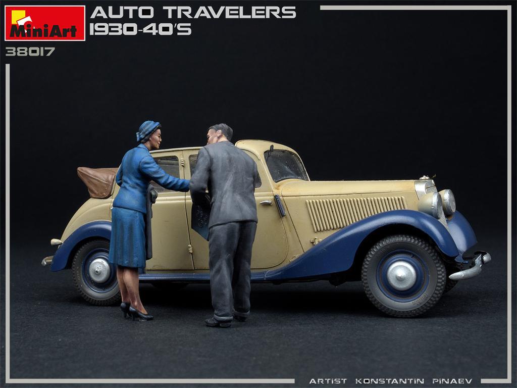 Viajeros de Auto 1930-40S (Vista 3)