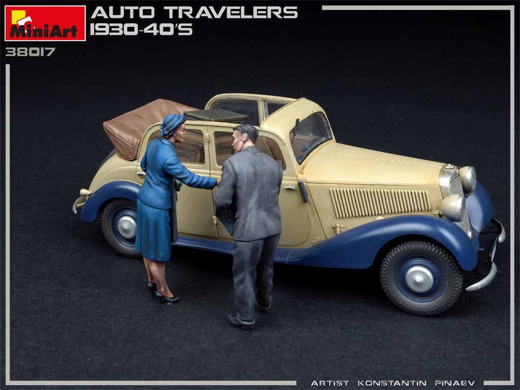 Viajeros de Auto 1930-40S (Vista 4)