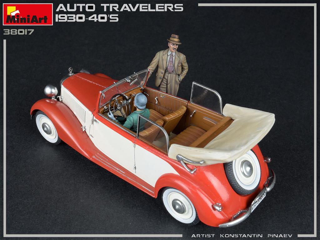 Viajeros de Auto 1930-40S (Vista 5)