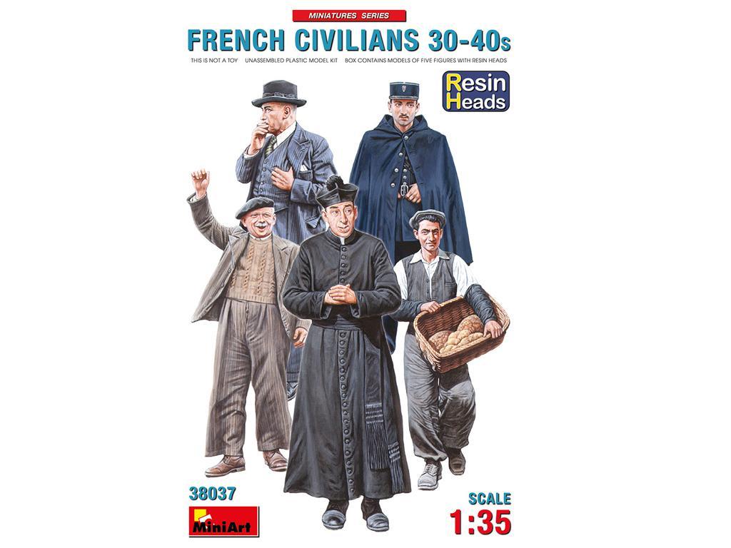 Civiles franceses de 30 a 40 años. (Vista 1)