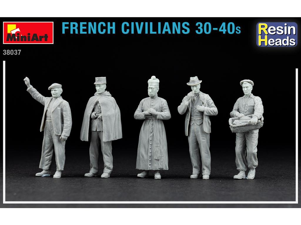 Civiles franceses de 30 a 40 años. (Vista 4)