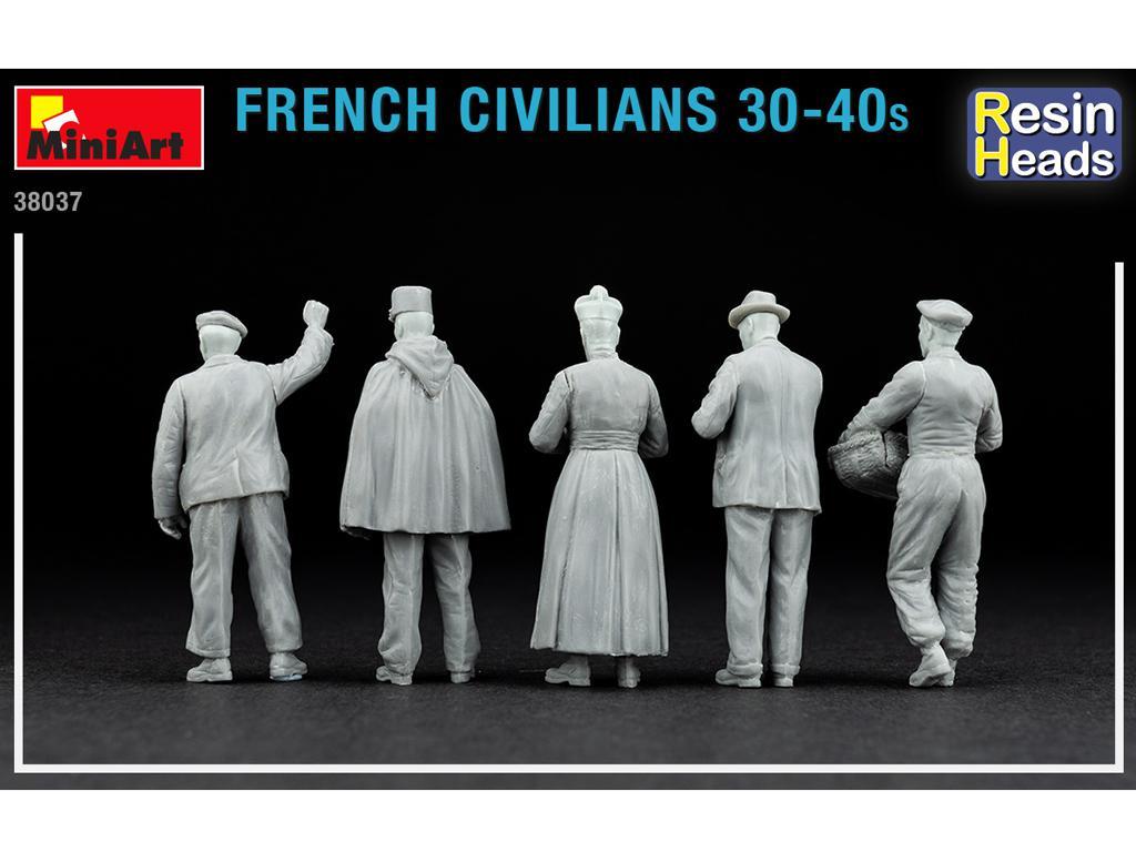 Civiles franceses de 30 a 40 años. (Vista 5)