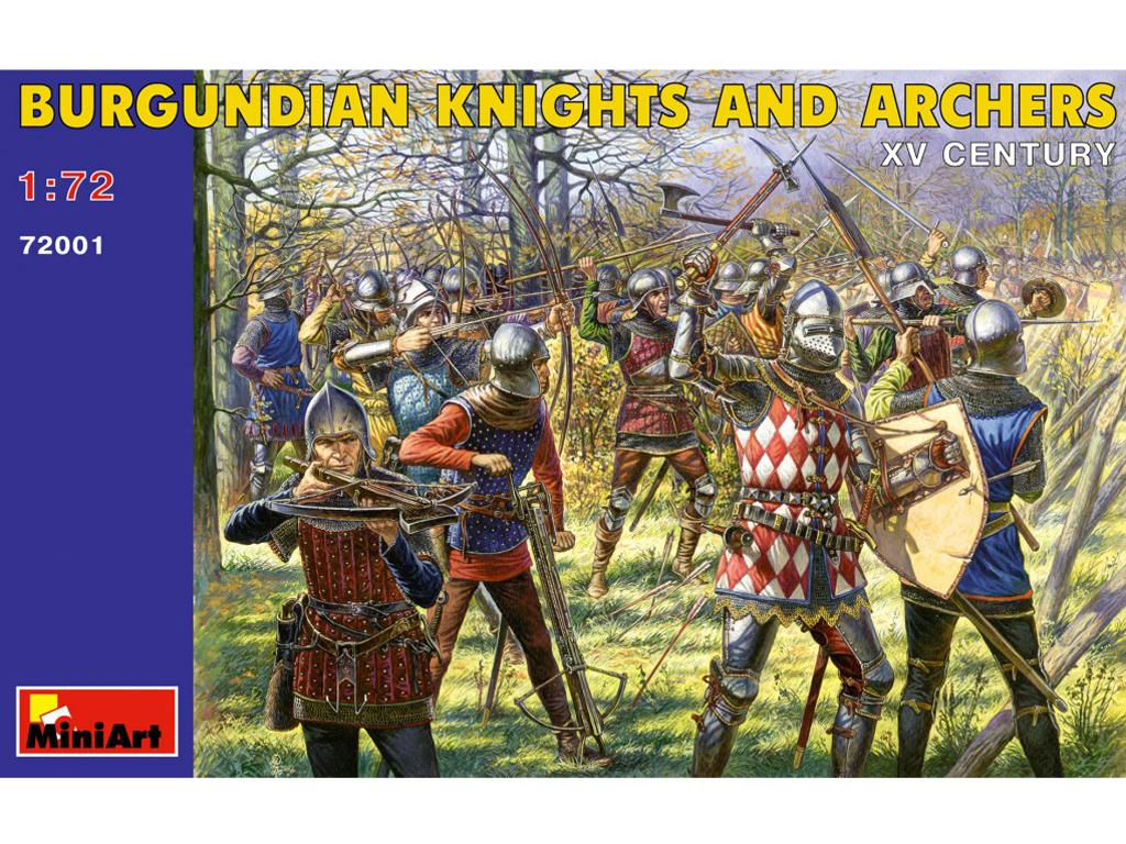 Caballeros y Arqueros Borgoñones. Siglo (Vista 1)