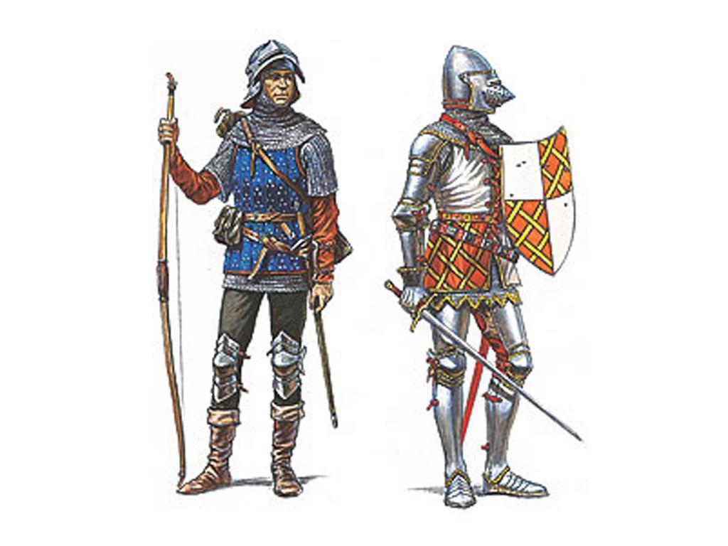 Caballeros y Arqueros Borgoñones. Siglo (Vista 2)