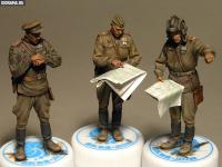 Oficiales soviéticos (Vista 10)