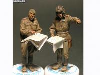 Oficiales soviéticos (Vista 12)