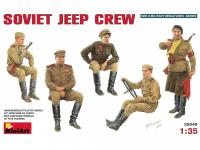 Tripulantes Jeep Sovietico (Vista 4)