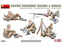 Soldados soviéticos haciendo una pausa (Vista 13)
