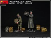 Soldados Alemanes con Jerry Cans (Vista 9)