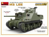 Australian M3 LEE. Interior Kit (Vista 12)