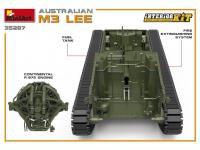 Australian M3 LEE. Interior Kit (Vista 14)