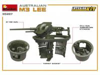 Australian M3 LEE. Interior Kit (Vista 15)