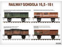 Railway Gondola 16,5-18 t (Vista 14)