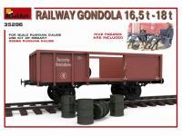 Railway Gondola 16,5-18 t (Vista 15)