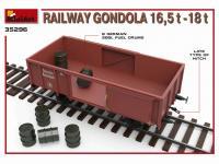 Railway Gondola 16,5-18 t (Vista 17)