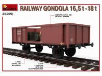 Railway Gondola 16,5-18 t (Vista 18)