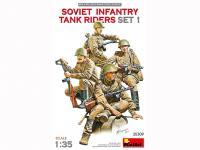 Infantería Soviética sobre Tanque Set 1 (Vista 7)