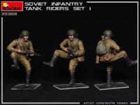 Infantería Soviética sobre Tanque Set 1 (Vista 8)