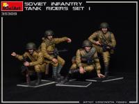 Infantería Soviética sobre Tanque Set 1 (Vista 9)