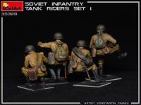 Infantería Soviética sobre Tanque Set 1 (Vista 10)