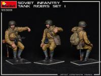 Infantería Soviética sobre Tanque Set 1 (Vista 12)