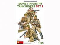 Infantería Soviética sobre Tanque Set 2 (Vista 9)