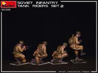 Infantería Soviética sobre Tanque Set 2 (Vista 15)