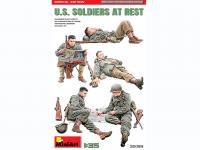 Soldados US descansando (Vista 3)