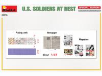 Soldados US descansando (Vista 4)
