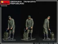 Tanquistas Alemanes Repostando (Vista 10)