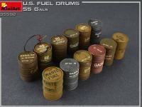 Bidones de combustible de EE.UU. 55 Gals (Vista 10)