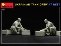 Tanquistas Ucranianos descansando (Vista 7)