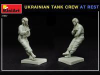 Tanquistas Ucranianos descansando (Vista 9)