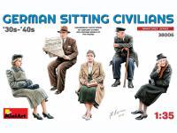 Pasajeros sentados '30 -'40S (Vista 5)