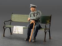 Pasajeros sentados '30 -'40S (Vista 7)