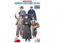 Civiles franceses de 30 a 40 años. (Vista 6)