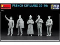 Civiles franceses de 30 a 40 años. (Vista 9)