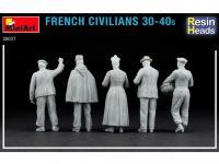 Civiles franceses de 30 a 40 años. (Vista 10)