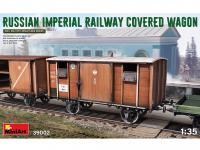 Vagón cubierto de Ferrocarril Imperial Ruso (Vista 13)