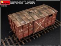 Vagón cubierto de Ferrocarril Imperial Ruso (Vista 22)