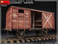 Vagón cubierto de Ferrocarril Imperial Ruso (Vista 15)