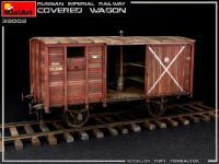 Vagón cubierto de Ferrocarril Imperial Ruso (Vista 19)