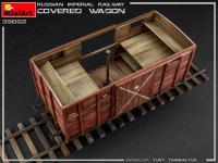 Vagón cubierto de Ferrocarril Imperial Ruso (Vista 21)