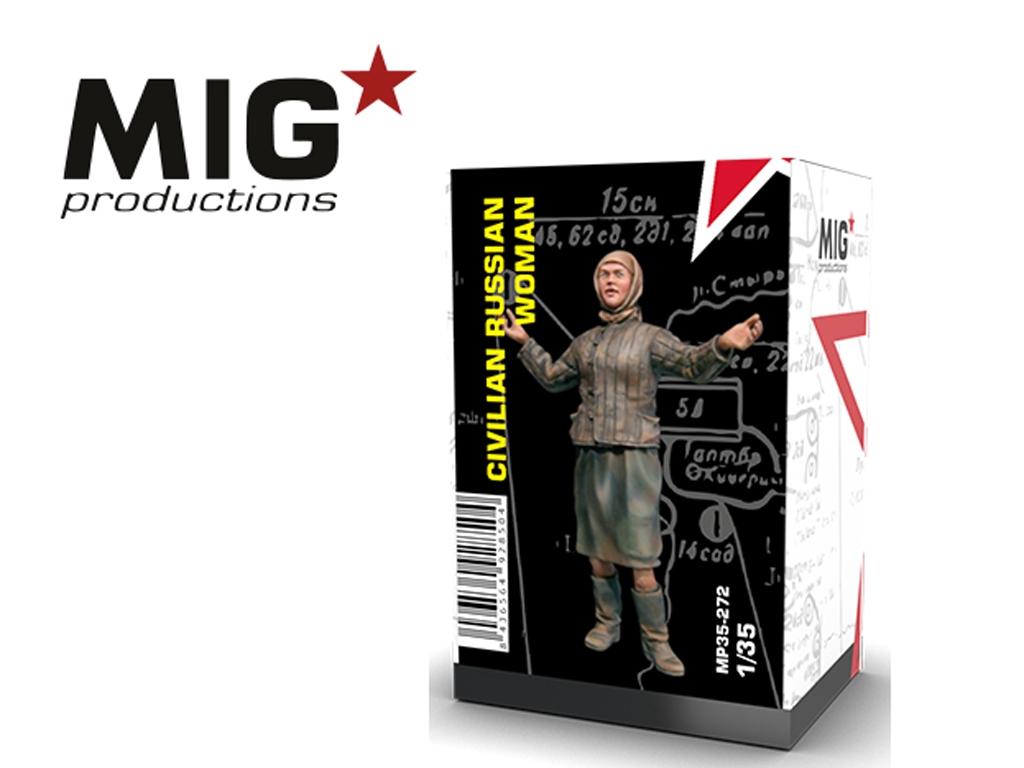 Mujer civil rusa IIGM  (Vista 1)