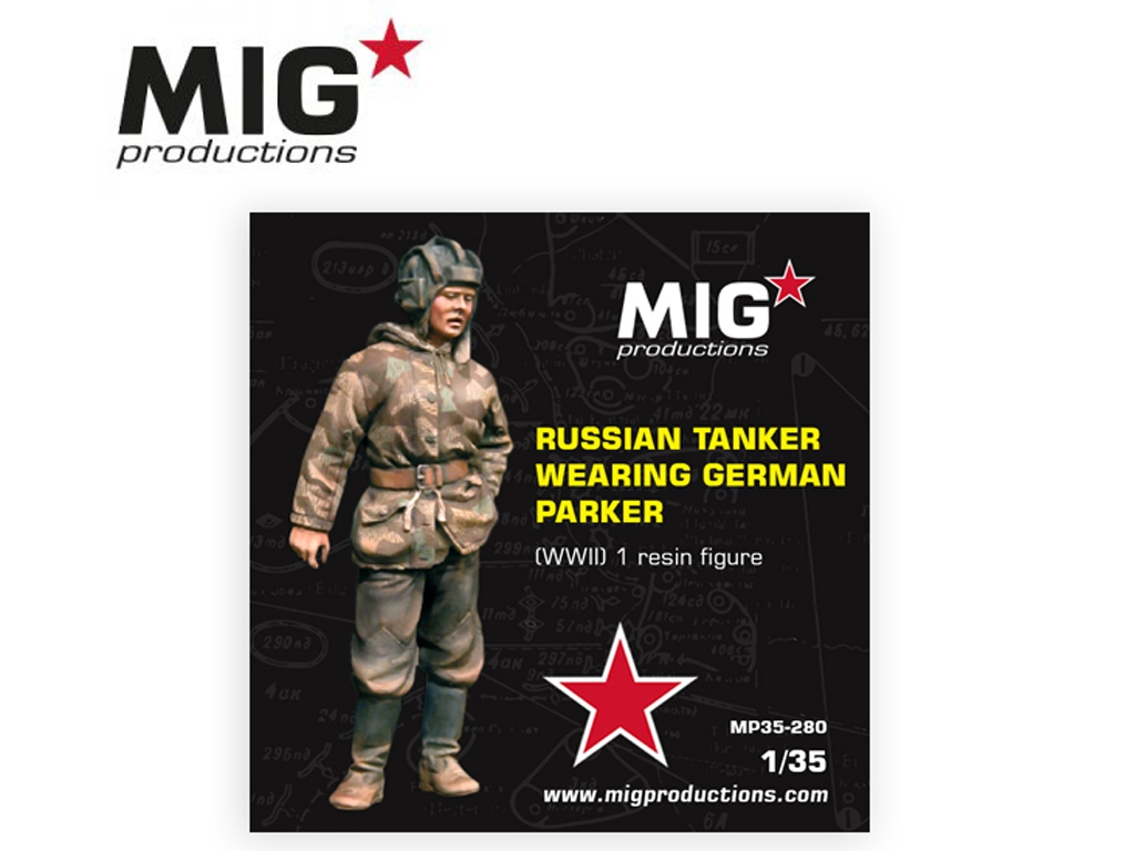 Russian Tanker Wearing German Parker  (Vista 1)