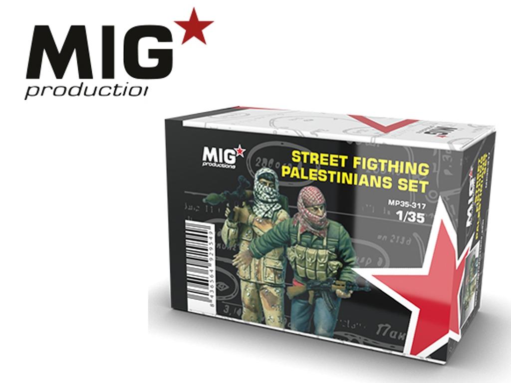 Palestinos en combate   (Vista 1)