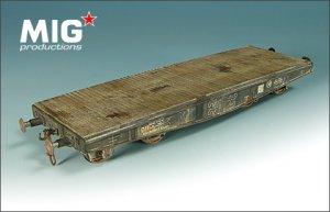 Vagón transporte vehículos pesados - Ref.: MIGP-72353