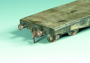 Vagón transporte vehículos pesados  (Vista 3)
